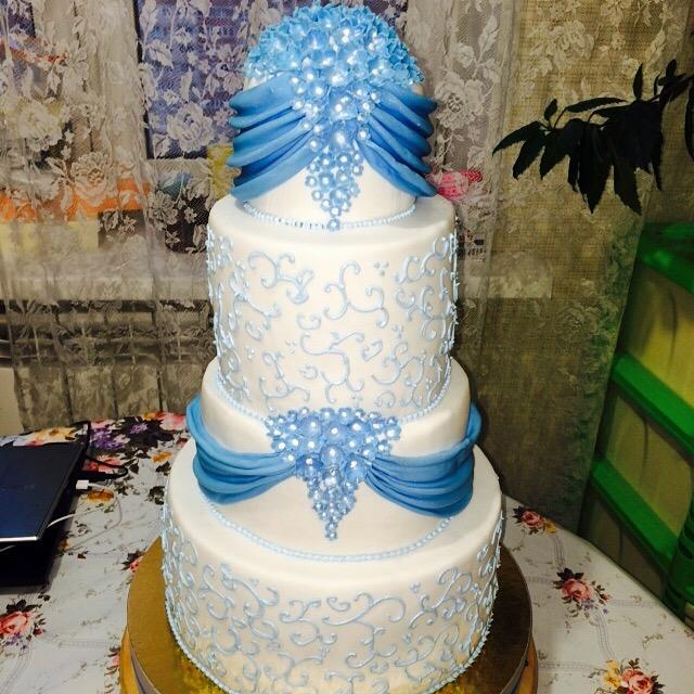 Галлерея фото свадебный торт