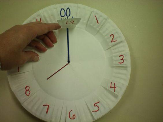 Часы для ребенка своими руками для изучения - Parus-murman.ru