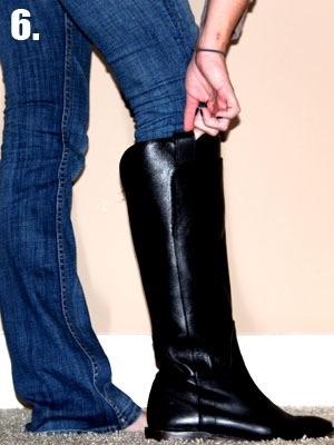 джинсы широкие от бедрa женские