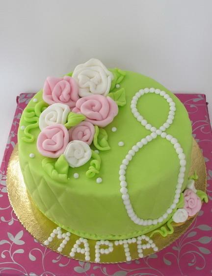 Восьмимартовский торт:)