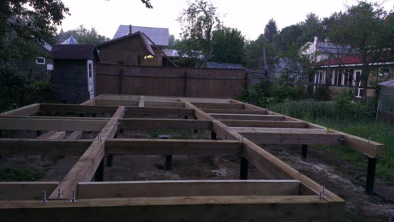 Дом от фундамент до крыши своими руками 99