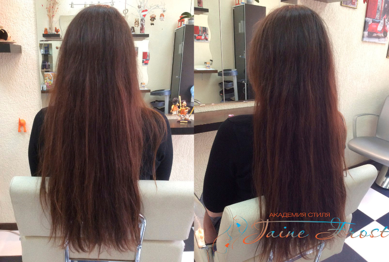 Прически длинные пористые волосы