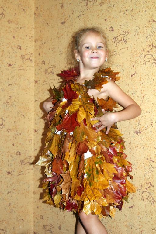 Костюм в садик осень своими руками