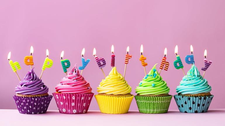 Открытки пирожные с днем рождения 32