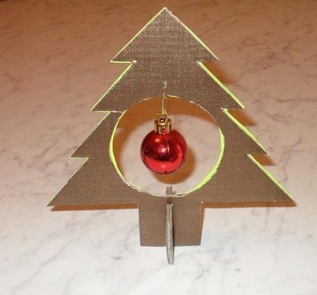 Новогодние игрушки на елку из картона своими руками