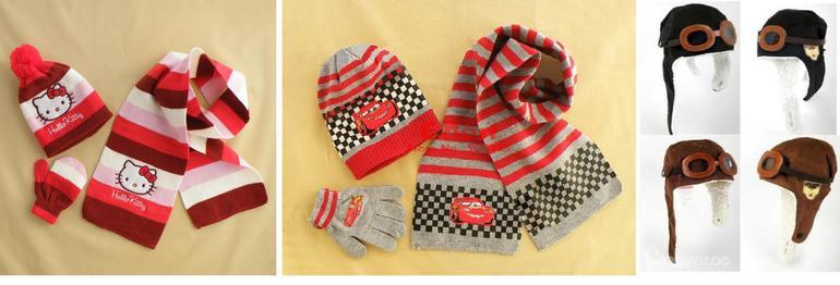 Шапки, шарфы, перчатки д/мальчиков и девочек. В наличии! Москва и регионы.