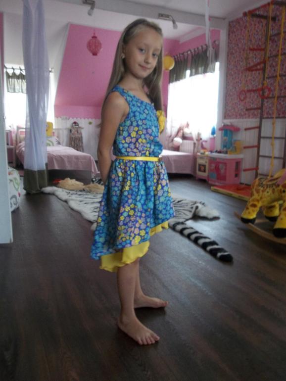 Сшить для дочери платье 77