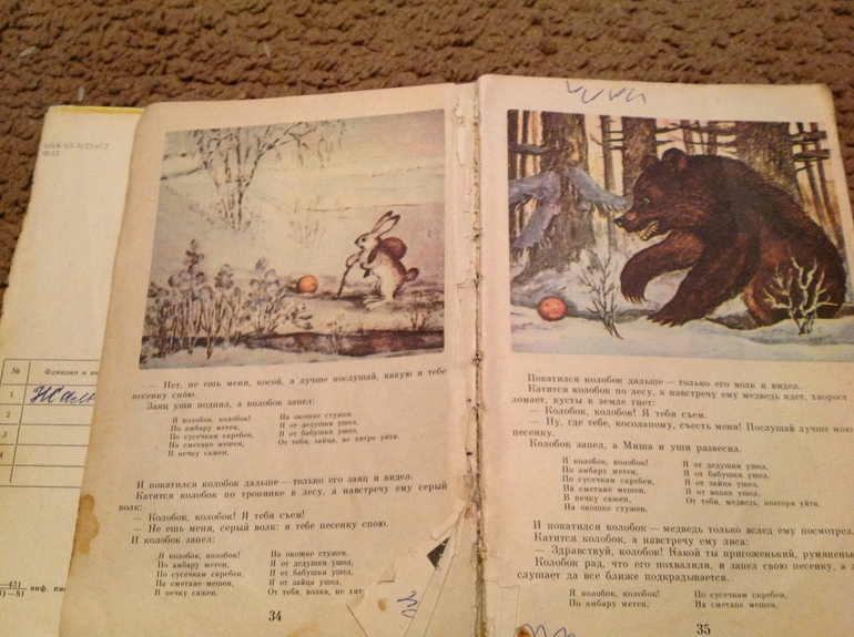 Книги из детства