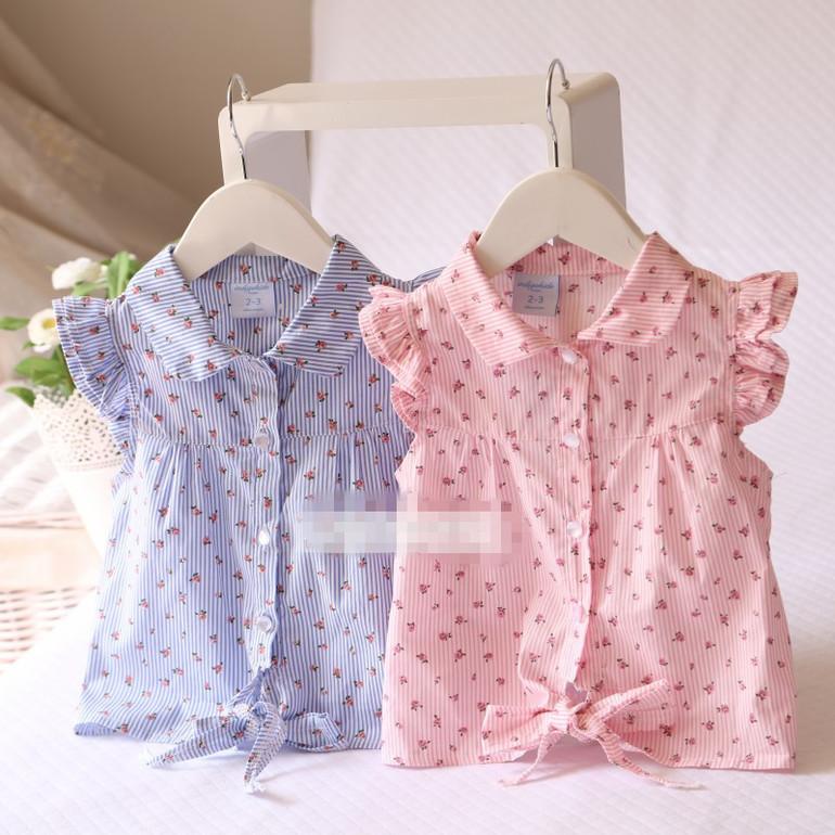 Летняя Блузка Для Девочки 4 Года
