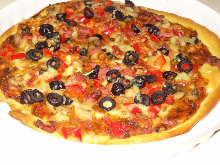 Это самый удачный рецепт пиццы, по которому я готовила когда-либо