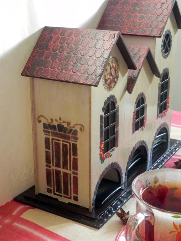Красивый чайный домик своими руками 18