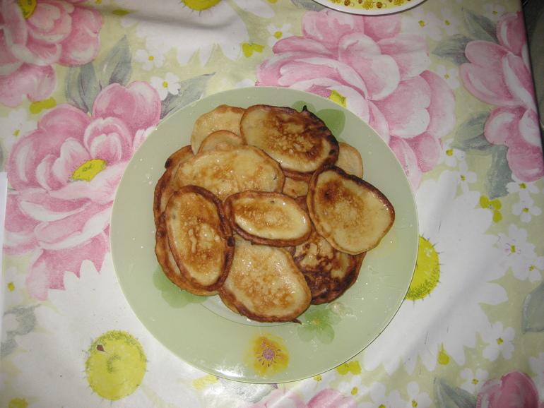 Банановые оладушки от Сашеньки))