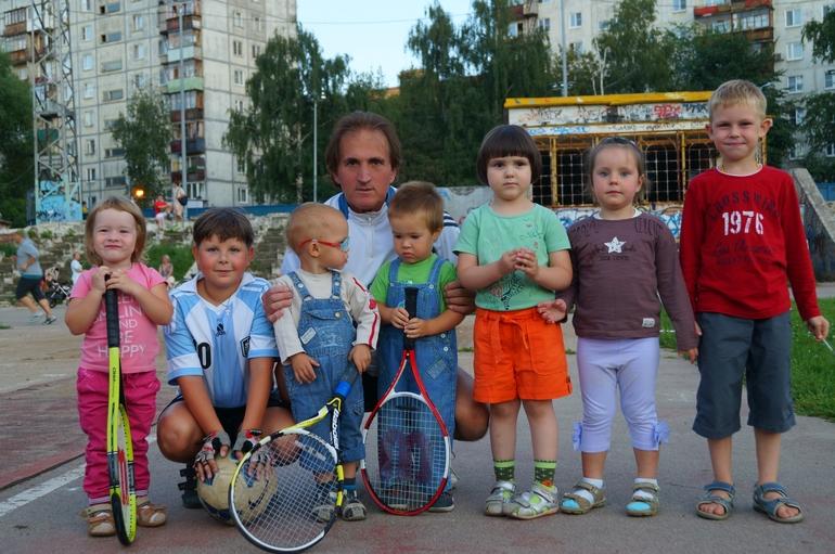 Детский теннис и Заури Абуладзе! Лиана Кузнецова