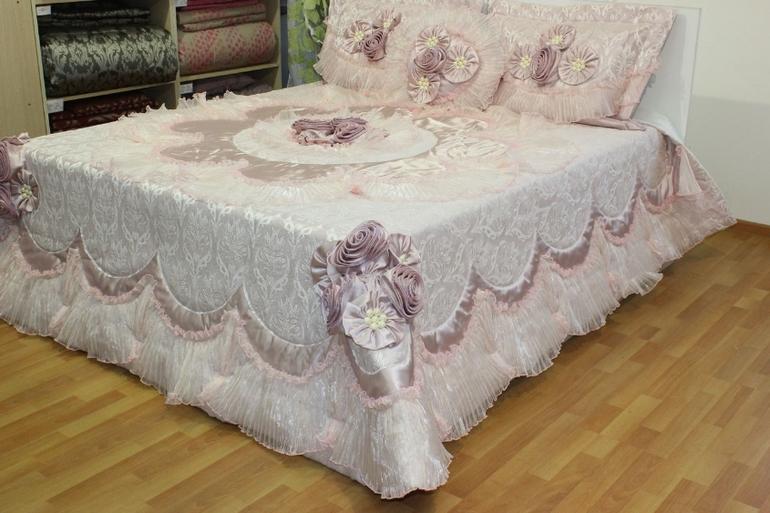 Покрывало с рюшами на кровать своими руками фото - Эдванс СБ