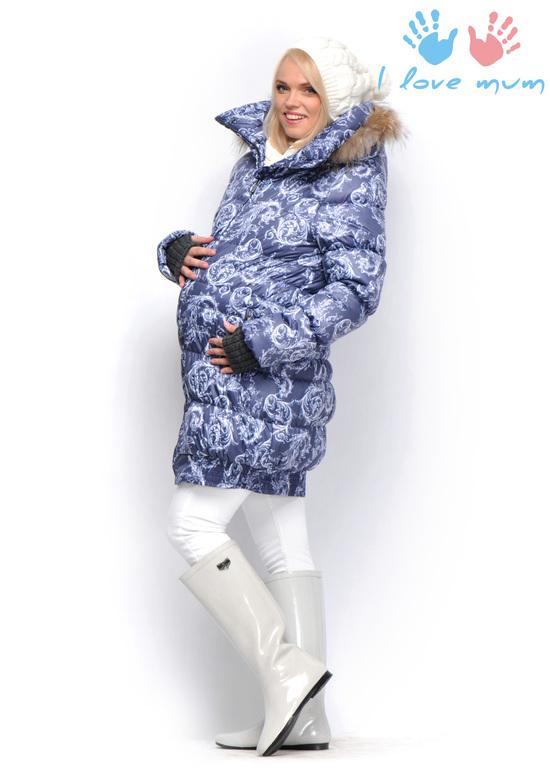 Куртка для беременных зимняя ай лав мам 31