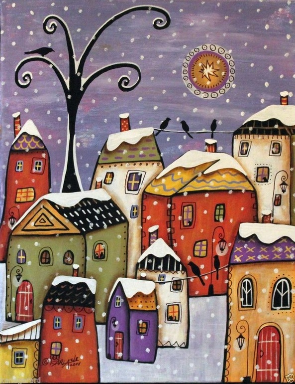Сказочные дома раскраска