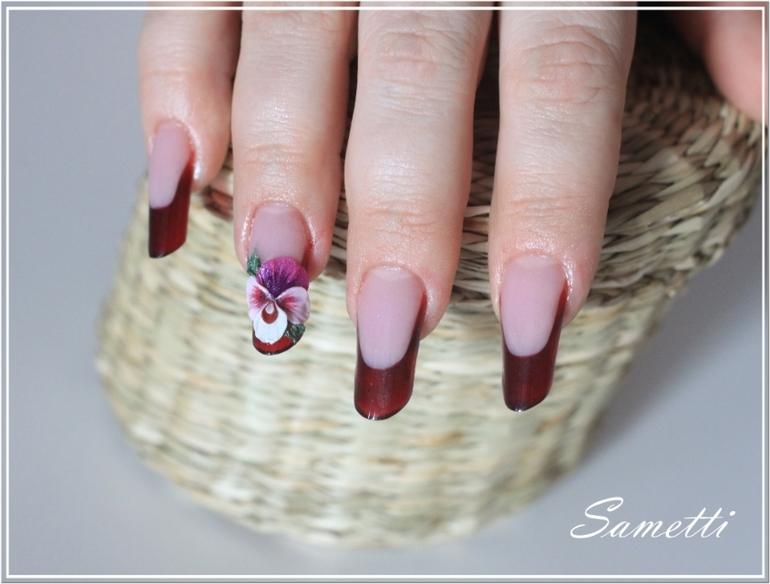 Дизайн ногтей гель-красками
