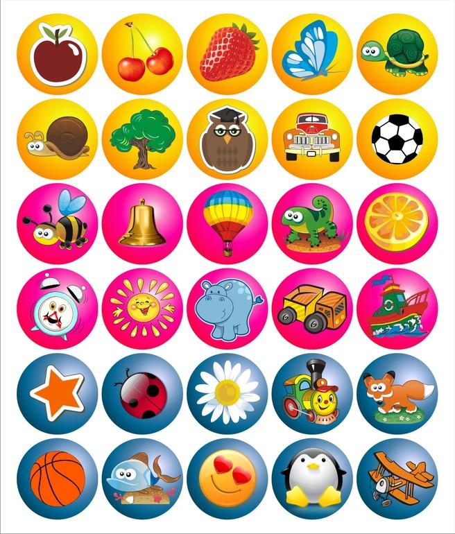 10 игр с наклейками