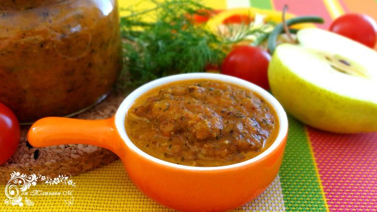 Чатни томатное сладко-соленое