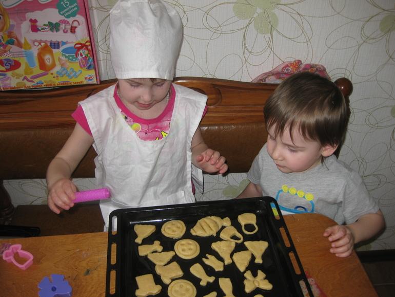 Печенье для малышей до года рецепт