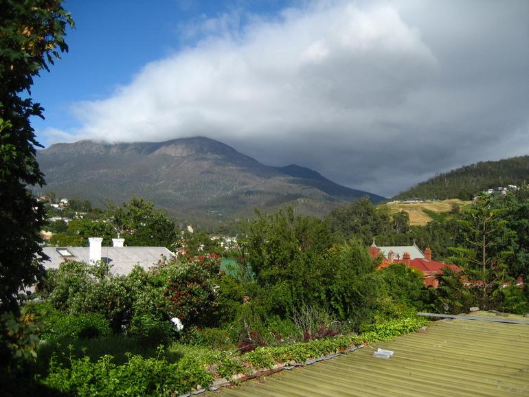 Поездка в Тасманию- день первый