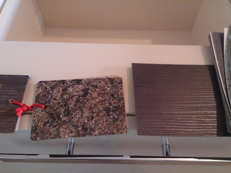Единая столешница и стеновая панель столешница для весов