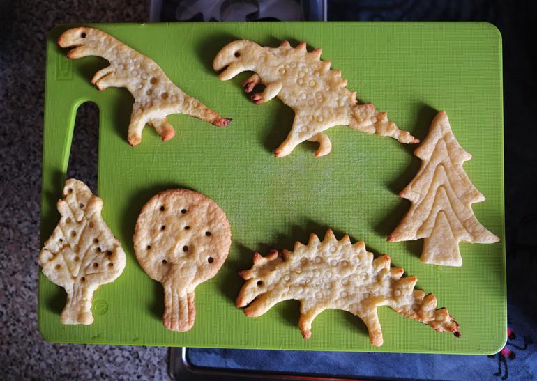 Как сделать из лисы динозавра