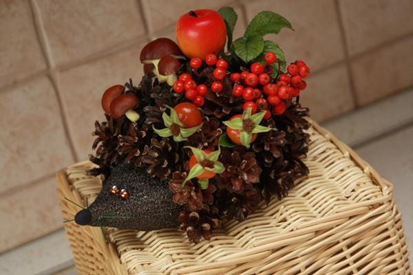 Поделки осень в садик