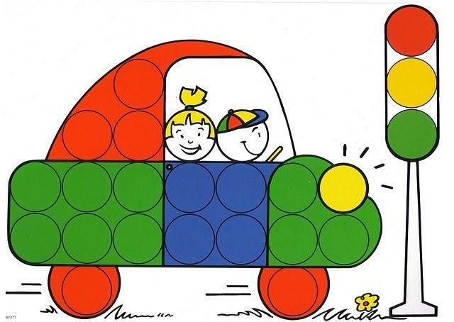 Схемы для игры на пробками для детей