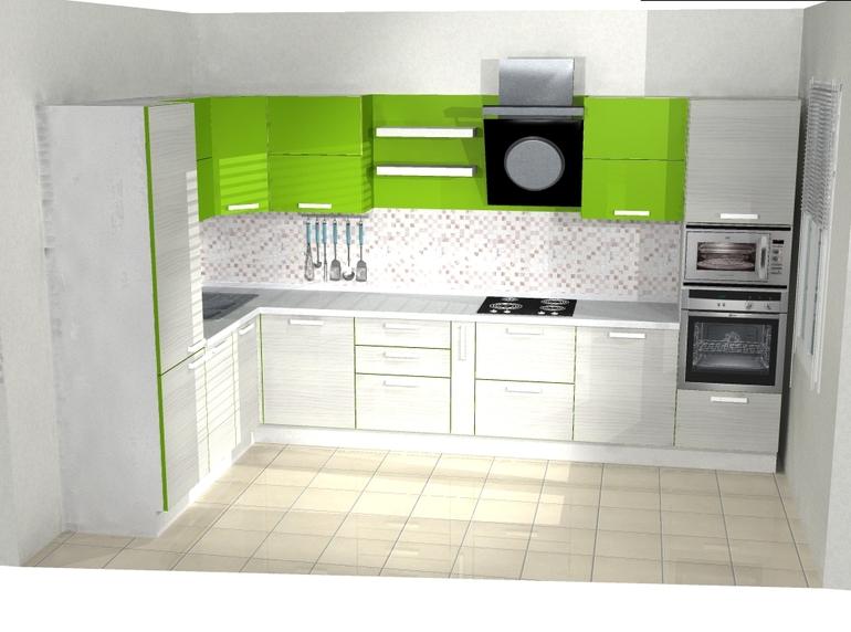 Кухня, какой вариант цвета вам больше нравится?