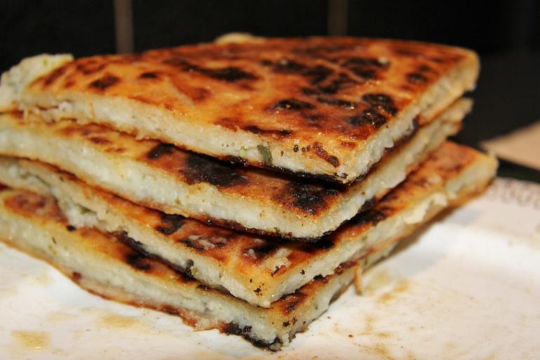 Пирог с картофелем и брынзой рецепт