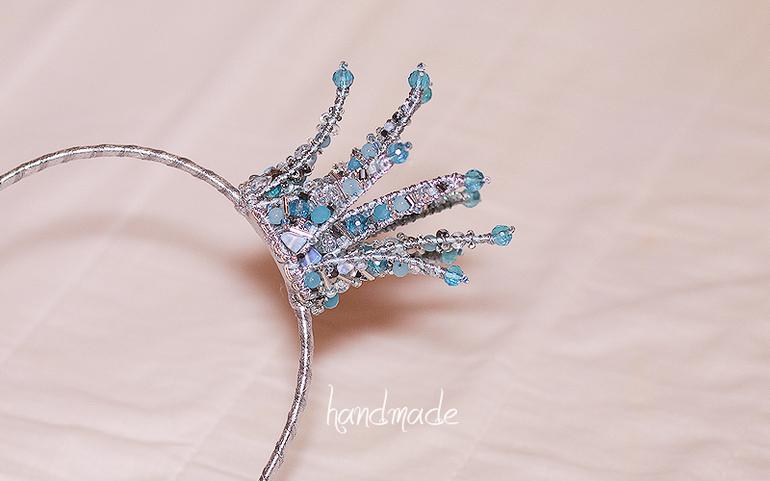 Короны для принцесс своими руками из бисера