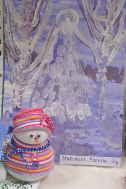 Снеговик в садик, НГ 2014.