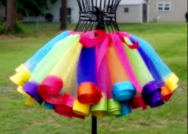 Пошить юбку для девочки из фатина