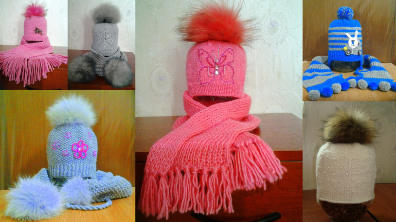 Мои  вязания  )))
