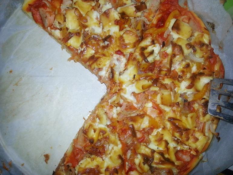 Рецепт пиццы из заливного теста