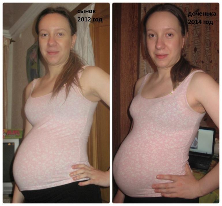 Сравнить живот беременной девочкой и мальчиком фото 20