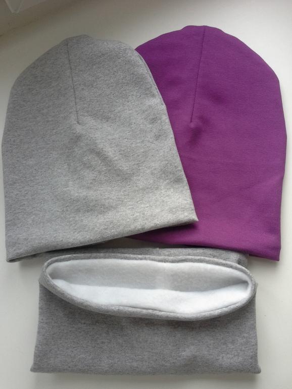 Как сшить шапку из трикотажа для девочек фото 137