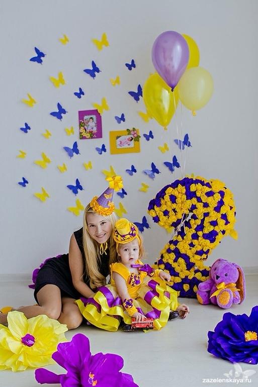 первый день рождения дочки в стиле тиффани ближайших