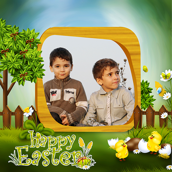 Happy Easter by Lissa Designs