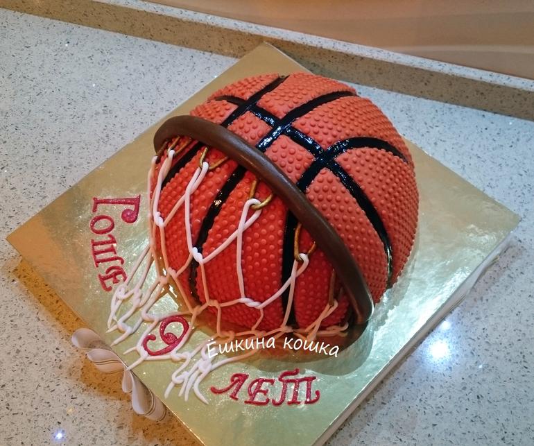 Торты для баскетболиста фото