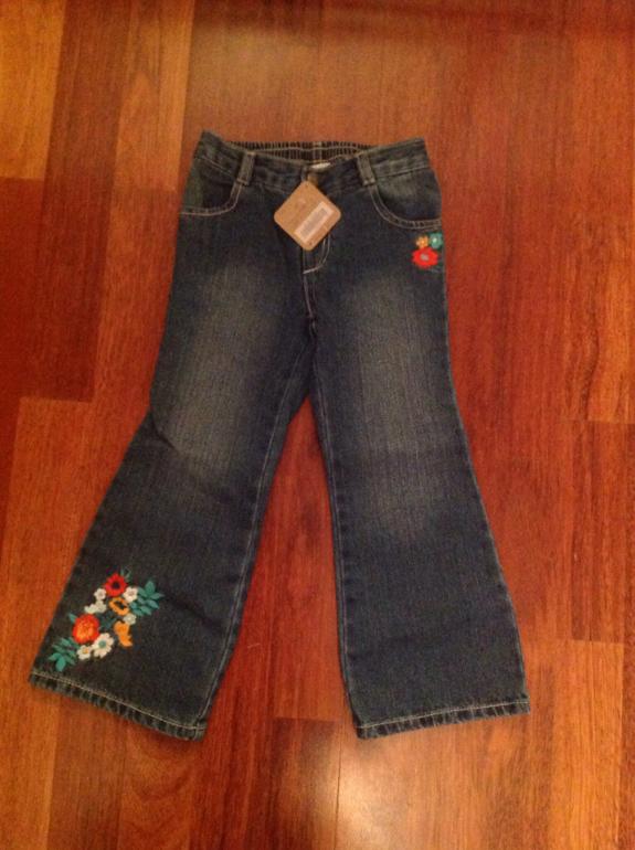 Gymboree новые джинсы из США размеры от 1 до 7