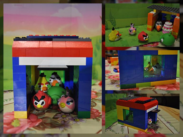 Наша любовь к Angry Birds