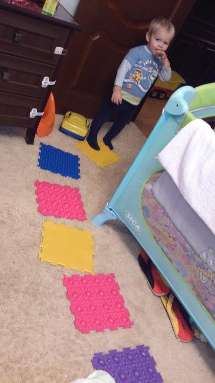 Наш массажный коврик