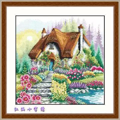 Набор для вышивки крестом Дом.