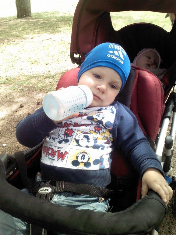 Погуляли сегодня в парке, погода супер!