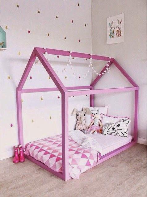 Детская кровать домик для девочки своими руками 79