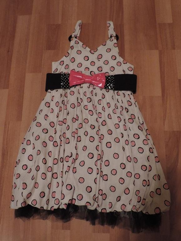 Отличный вечерне-выходной вариант- платье и болеро Wojcik рост 134 1000 руб