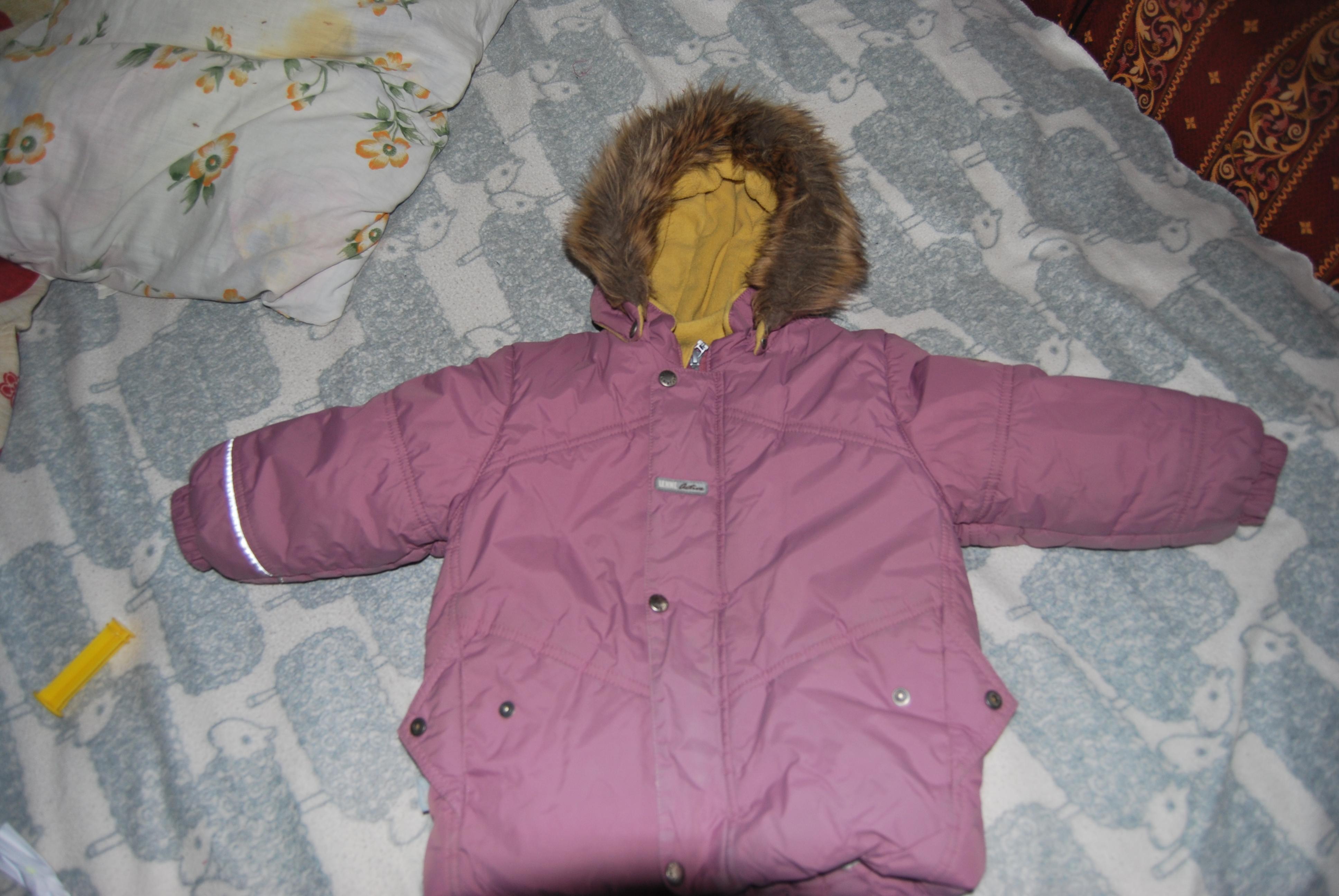 Куртка зимняя Lenne, р.98, 500 руб, м.Октябрьское поле