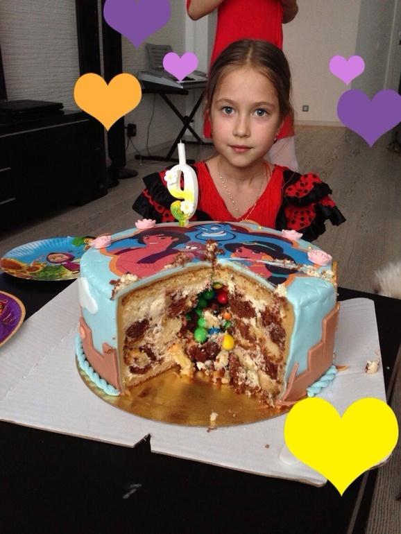 торт алладин фото